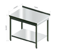 Stainless steel furniture, HOODS